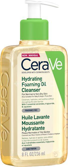 CeraVe Hydratačný čistiaci penivý olej s obsahom 3 esenciálnych ceramidov a lipidov 236ml