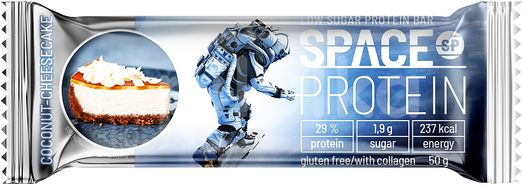 Space Protein Low Sugar Coconut Cheesecake 50g