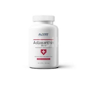 Aliver  Astaxanthin 25 mg 60 kapsúl