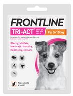 Frontline Tri-Act Spot-On pre psy S sol 1ml