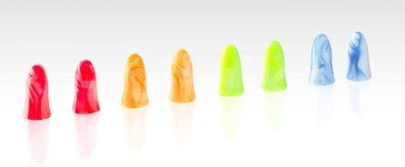 OHROPAX COLOR Ušné vložky v plastovom obale 8 ks