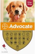 Advocate For Dogs 10-25kg 3x2,5ml