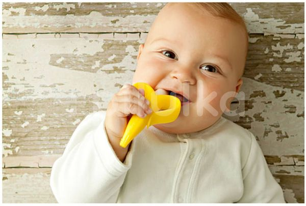 Baby Banana Prvá kefka - Banán