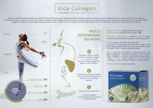 Morský kolagén Inca Collagen v prášku 30 vrecúšok