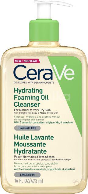 CeraVe Hydratačný čistiaci penivý olej s obsahom 3 esenciálnych ceramidov a lipidov 473ml