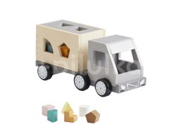 Kids Concept Nákladiak s kockami drevený Aiden