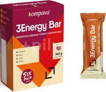 Kompava 3Energy Bar Sixpack pomaranč-mliečna poleva 6ks