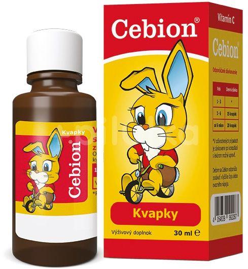 CEBION kvapky 30ml