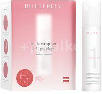 Butterfly Body Cosmetics Body Wrap Set na telové zábalové ošetrenie