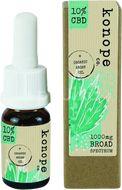 Konope co. 10% CBD v organickom argánovom oleji - Široké Spektrum 1000mg