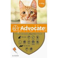Advocate For Cats do 4kg 3x0,4ml