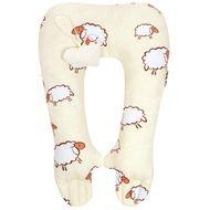 New Baby Multifunkčný stabilizačný vankúšik ovečky bežový