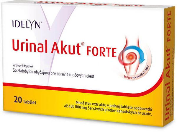 IDELYN Urinal Akut FORTE 20 cps