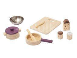 Kids Concept Sada na varenie Bistro drevená 10ks