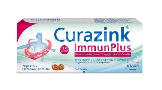 Curazink Immun Plus 20 pastilek