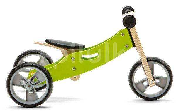 Nicko Drevené odrážadlo 2v1 mini - zelené
