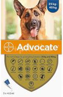 Advocate For Dogs 25-40kg 3x4,0ml