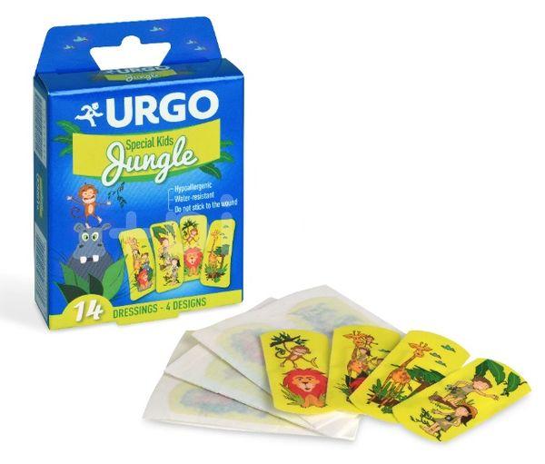 URGO Special Kids JUNGLE detské náplasti 4 motívy 14ks