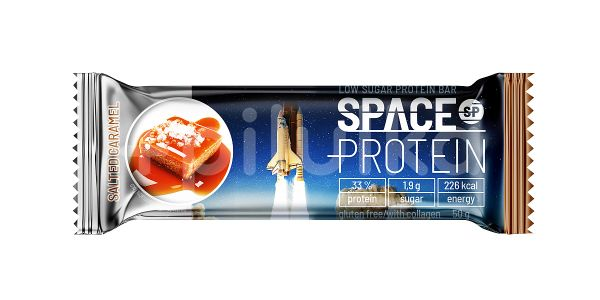 Space Protein Low Sugar Salted Caramel 50g