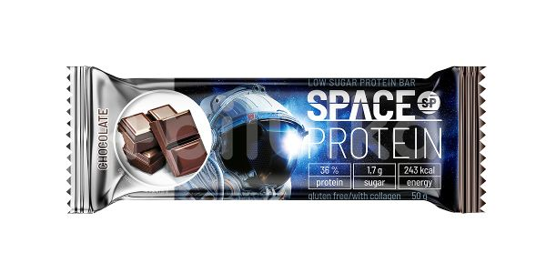 Space Protein Low Sugar Chocolate 50g