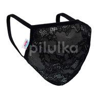 New Baby Ochranné textilné rúško, čierné