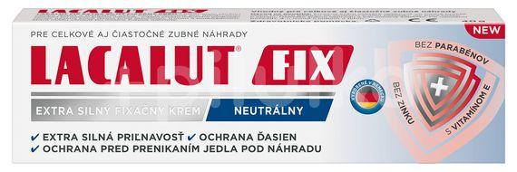 Lacalut FIX extra silný fixačný krém, neutrálny 40g