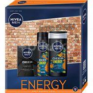 Nivea Men box lotion deep le 2021 3ks