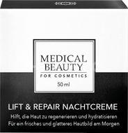 Medical Beauty for cosmetics Lift&Repair Nočný krém 50ml