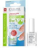 Eveline Cosmetics SPA Nail Therapy Total Action 8v1 Sensitive Lak na nechty 12ml