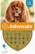Advocate For Dogs 4-10kg 3x1,0ml