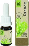 Konope co. 20% CBD v organickom argánovom oleji - Široké Spektrum 2000mg